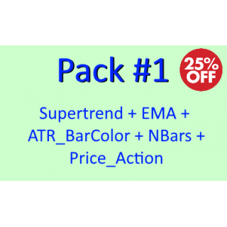 PACK 1 - 25% Discount