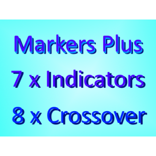 Combo Markers Plus + 7 Indicators + 8 Crossover Indicators Pack
